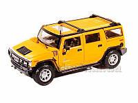Автомодель 1:27 2003 Hummer H2 SUV желтый Maisto