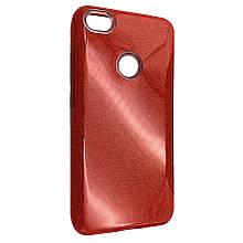 Чехол-накладка Glitter Heaven Rain для Xiaomi Redmi Note 5A Prime (red)