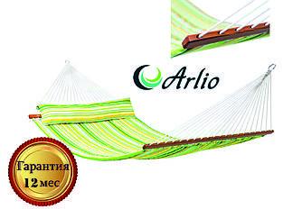 Гамак тканевый радужного цвета Arlio BORNEO. Двухместный с планкой 3.2м х 1.2м