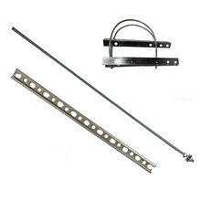 Траверси для підвісу оптичного кабелю