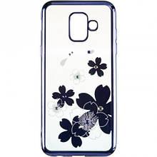 Чехол накладка силиконовый TPU Beckberg Breathe New для Meizu C9 Flowers