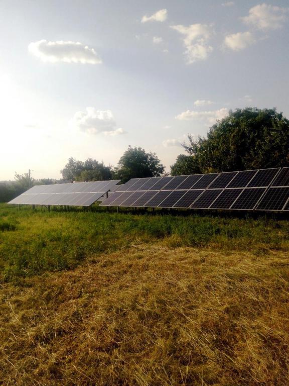 """Лозоватка солнечная электростанция под """"зеленый"""" тариф мощностью 31,3 кВт Risen + Huawei Днепропетровская область"""