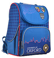 """Школьный рюкзак для мальчика в синем цвете ТМ """"1 ВЕРЕСНЯ"""" H-11 OXFORD"""