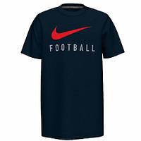 Nike JR Dry Tee Swoosh Foootball 010 — BQ8442-010