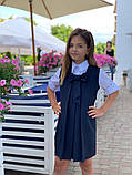 Сарафан детский,ткань мадонна,размеры:128,134,140,146., фото 5