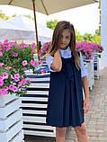 Сарафан детский,ткань мадонна,размеры:128,134,140,146., фото 8