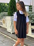 Сарафан детский,ткань мадонна,размеры:128,134,140,146., фото 9