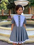 Платье школьное,ткань мадонна,размеры:122,128,134,140., фото 3