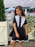 Платье школьное,ткань мадонна,размеры:122,128,134,140., фото 4