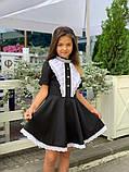 Платье школьное,ткань мадонна,размеры:122,128,134,140., фото 5
