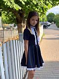 Платье школьное,ткань мадонна,размеры:122,128,134,140., фото 8