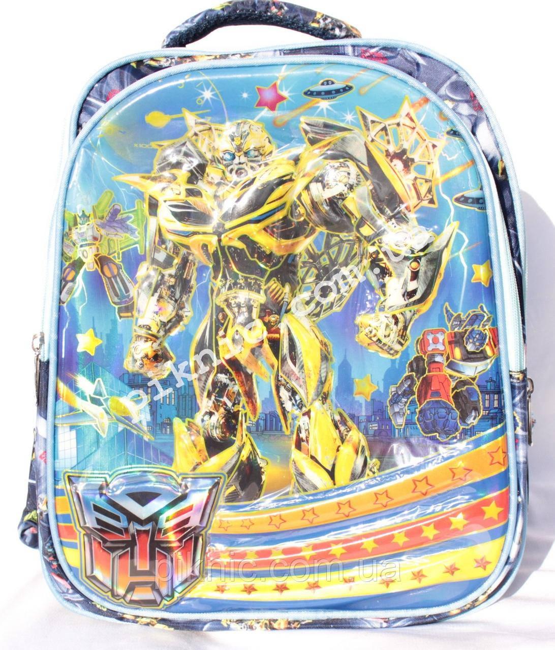 Школьный рюкзак Трансформер 1,2 класс для мальчиков. Портфель ранец ортопедический