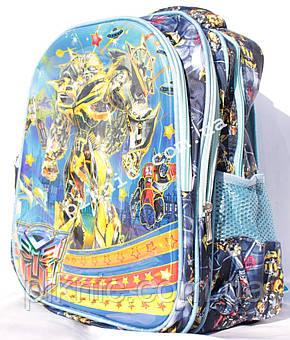 Школьный рюкзак Трансформер 1,2 класс для мальчиков. Портфель ранец ортопедический, фото 2