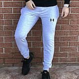 КАЧЕСТВО! UNDER ARMOUR | Мужской спортивный костюм. Чоловічий спортивний костюм | АНДЕР АРМОР (Черно-Серый), фото 3