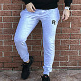 КАЧЕСТВО! REEBOK Classic | Мужской спортивный костюм. Чоловічий спортивний костюм | РИБОК, РІБОК (Черно-Серый), фото 3