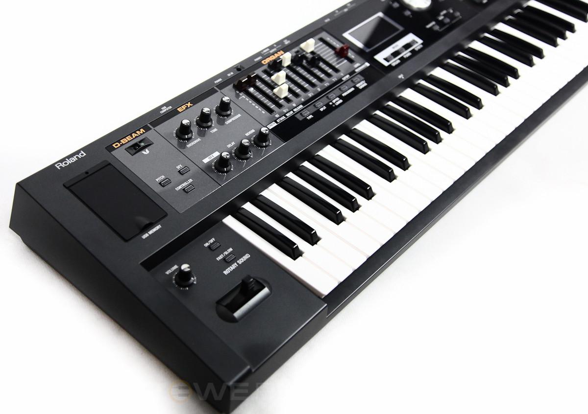 Синтезатор Roland VR-09