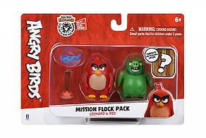 Jazwares Ігрова фігурка Angry Birds ANB Mission Flock Ред і Леонард