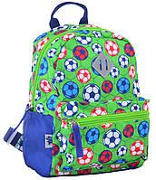 Рюкзак детский 1 Вересня K-19 Football Зеленый