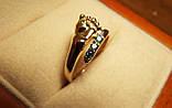 Кольцо  женское золотое Ножка Малыша КЦ-20 Б, фото 5