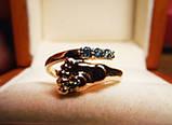 Кольцо  женское золотое Ножка Малыша КЦ-20 Б, фото 4