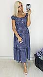 Модное летнее женское нарядное платье,ткань батист,размеры:50,52,54,56,58., фото 2