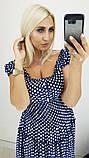 Модное летнее женское нарядное платье,ткань батист,размеры:50,52,54,56,58., фото 3
