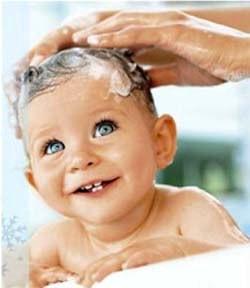 Дитячі шампуні