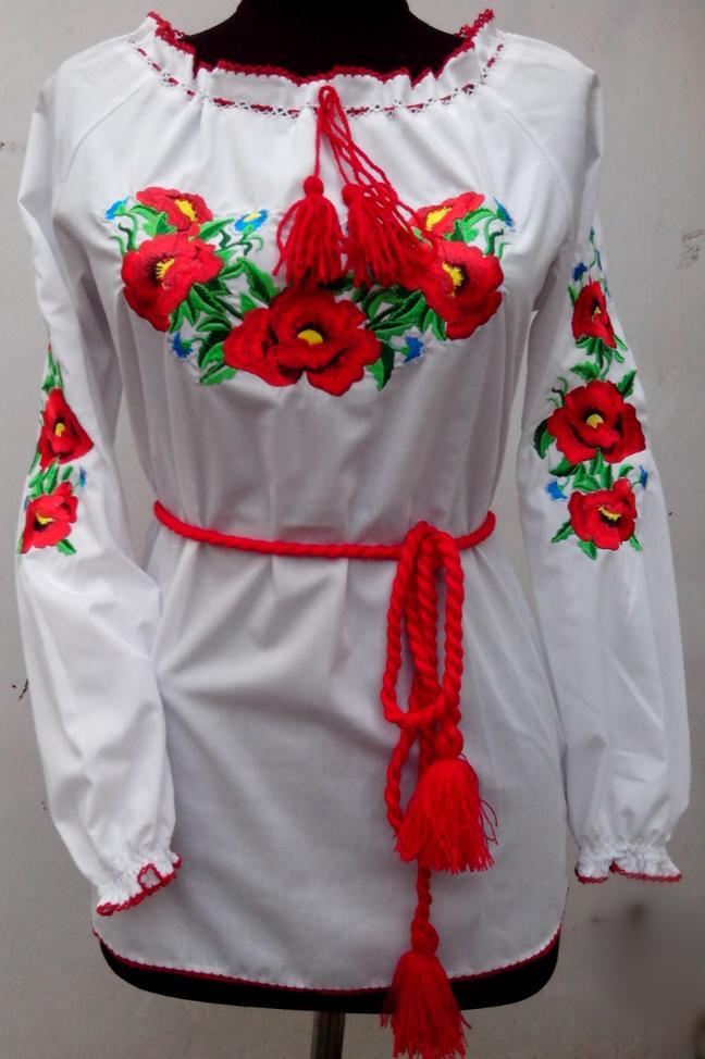 Недорогая женская вышиванка