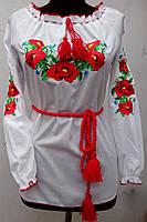 Недорогая женская вышиванка , фото 1