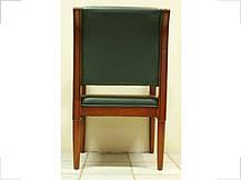 Кресло Венеция CF Лесной орех, Кожа Люкс Комбинированная Зеленая (Диал ТМ), фото 2