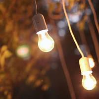 С обычными лампочками