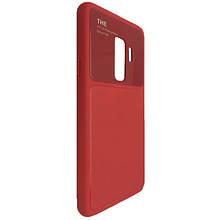 Чехол-накладка DK-Case силикон стекло Totu Arte для Samsung S9 Plus (red)
