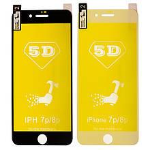 Защитная пленка 5D for Apple iPhone 7/8 Plus (white)
