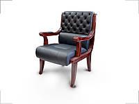 Кресло конференц Сорренто черное (Диал ТМ)