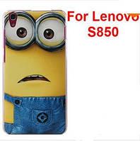 Оригинальный бампер панель накладка чехол на Lenovo S850 Fashion_2, фото 1