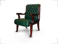 Кресло конференц Сорренто зеленое (Диал ТМ)