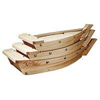"""Набор лодок для подачи суши """"Пекин 3"""" без отделки"""
