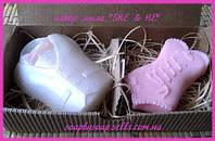 """Набор мыла """"She&He"""", фото 1"""