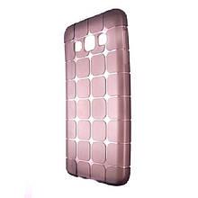 Чехол-накладка DK-Case силикон ROCK Cube для SAMSUNG J1 (dark)