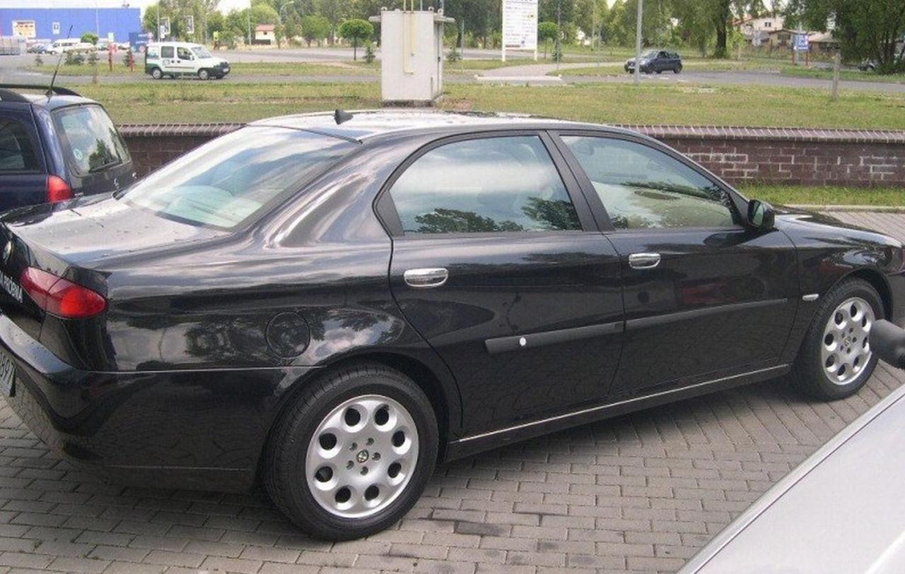 Alfa Romeo 166 1998-2007 молдинги на двери