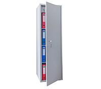 ШБС-16 шкаф архивный канцелярский, шкаф металлический с трейзером для документов Н1650*460*340 мм