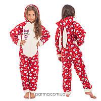 Теплая детская пижама Кигуруми LOL для девочек 149-159 см