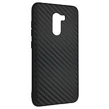 Чехол-накладка DK-Case силикон Carbon Case Business для Xiaomi Pocophone F1 (black)