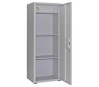 ШБС-12 шкаф архивный канцелярский, шкаф металлический с трейзером для документов Н1240*460*340 мм
