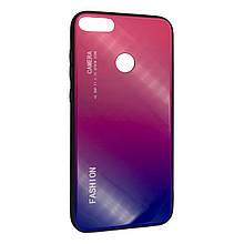Чехол-накладка DK-Case силикон Glass Case Gradient Fashion для Huawei Honor 9i (03)