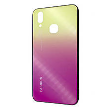 Накладка силикон Glass Case Gradient Fashion for Vivo X21 (04)