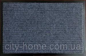 Коврик грязезащитный влаговпитывающий 60 х 90 серый, фото 2