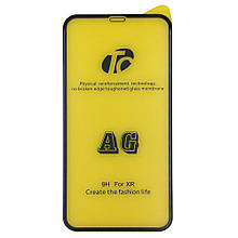 Защитное стекло DK Matt AG Full Glue для Apple iPhone XR (black)