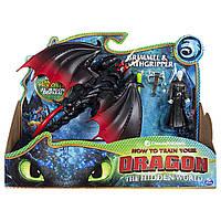 Дракон Мертвой хватки и всадник Громмель Dragons Deathgripper & Grimmel