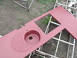 Стільниця з мийкою + стіл (лита мийка+ 2700грн./шт. додатково), фото 4